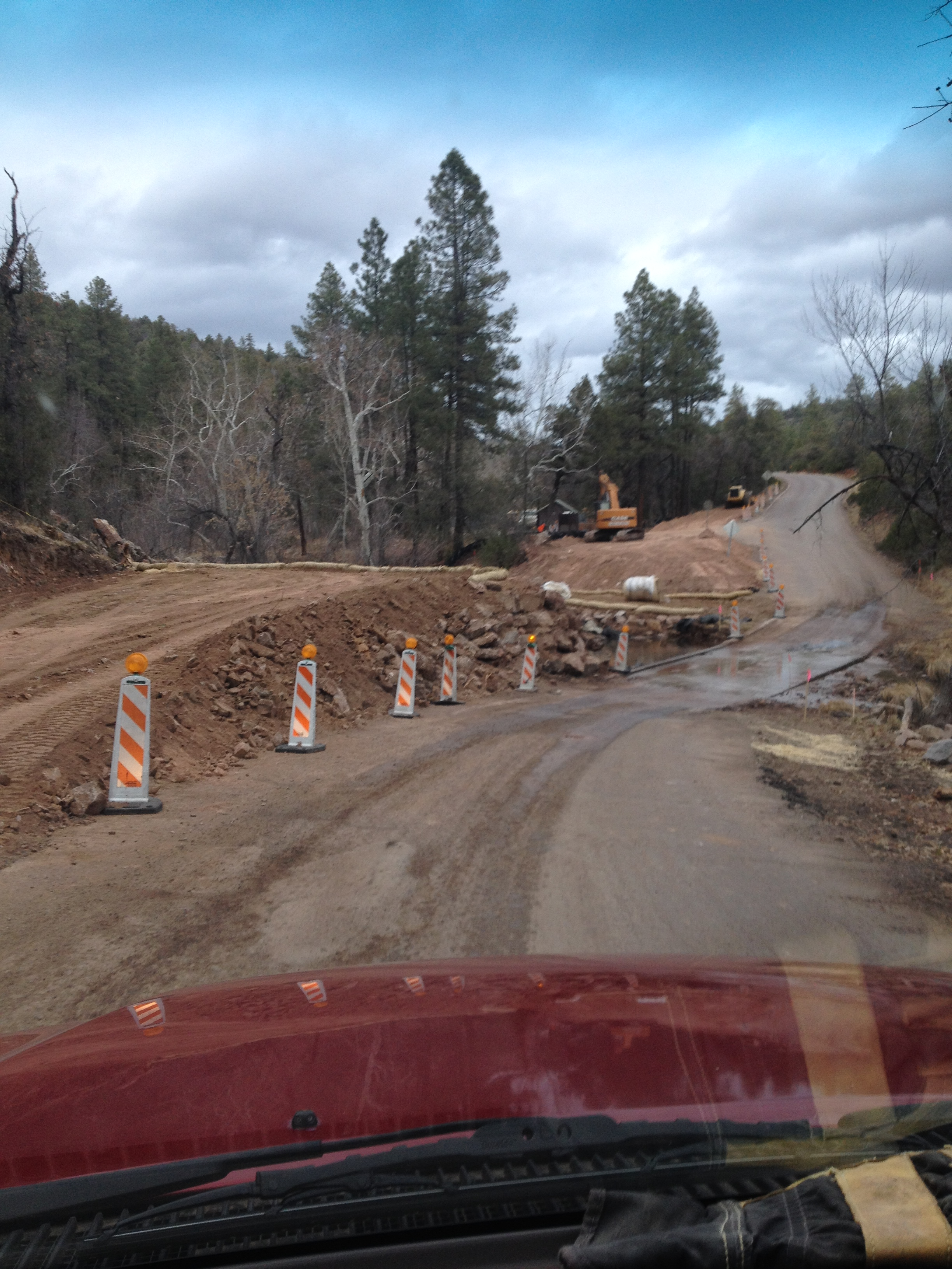 New bridge construction on the river cabin on the east for Arizona game and fish stocking schedule